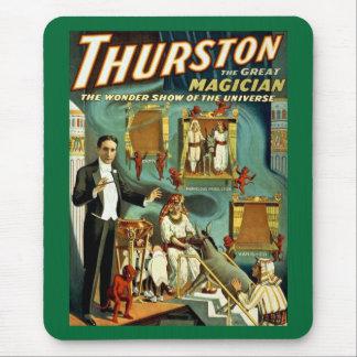 Thurston手品師-驚異ショー マウスパッド