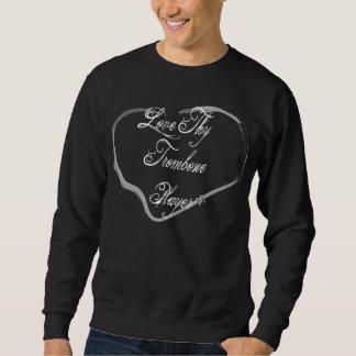 Thyトロンボーンプレーヤーを愛して下さい スウェットシャツ