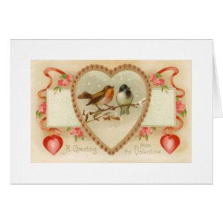 Thyバレンタインからの挨拶 カード