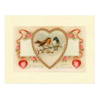 Thyバレンタインからの挨拶 ポストカード