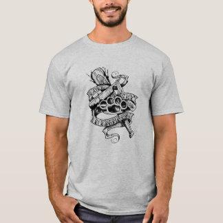 Thy隣を愛して下さい(入れ墨のデザイン) Tシャツ