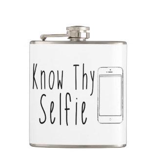 Thy Selfie -おもしろいな引用文--を知って下さい フラスク