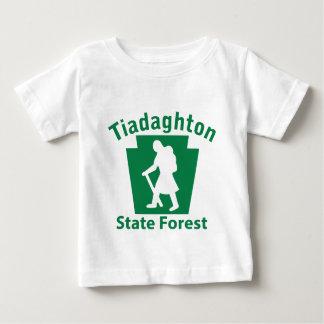 Tiadaghton SFのハイキングの(女性) -幼児Tシャツ ベビーTシャツ