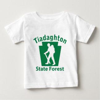 Tiadaghton SFのハイキング(男性) -幼児Tシャツ ベビーTシャツ