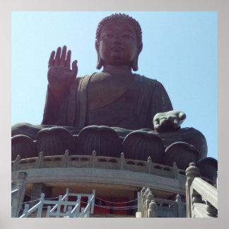 Tian Tan Buddha ポスター