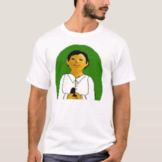 TibbsOmalayの緑の楕円形 Tシャツ