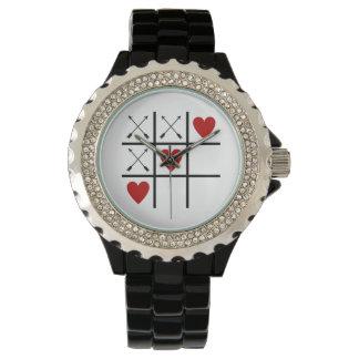 Tic TACのつま先のハート 腕時計