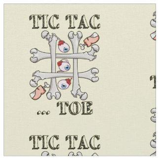 Tic TACのつま先の無価値および十字 ファブリック