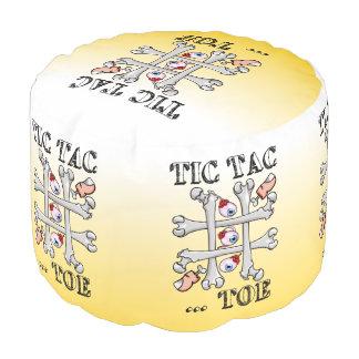 Tic TACのつま先の無価値および十字 プーフ