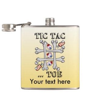 Tic TACのつま先の眼球およびつま先 フラスク
