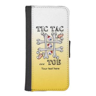 Tic TACのつま先の眼球、つま先および骨 iPhoneSE/5/5sウォレットケース
