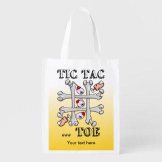 Tic TACのつま先の骨およびつま先 エコバッグ