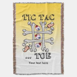 Tic TACのつま先の骨およびつま先 スローブランケット