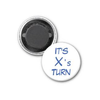 """Tic TACのつま先1-1/4の""""冷蔵庫用マグネットの~ Xの回転 マグネット"""
