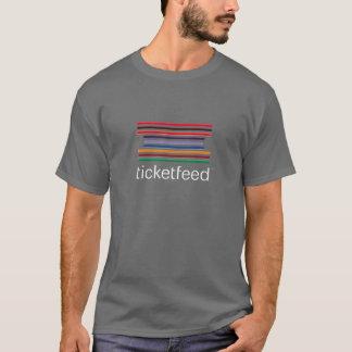 ticketfeed木炭Tシャツ Tシャツ