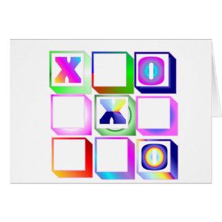 ticktactoe カード