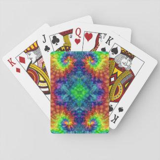 Tie Dye Sky Vintage Kaleidoscope  Playing Cards トランプ