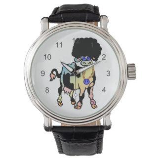 Tiedyeのアフリカ牛 腕時計