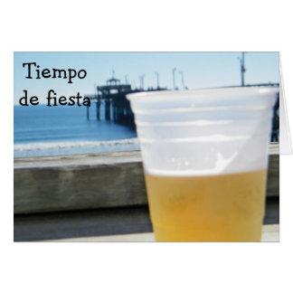 TIEMPO de FIESTA -誕生日をパーティを楽しむ時間 カード