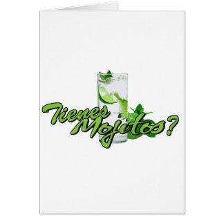 Tienes Mojitosか。 カード