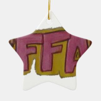 TIFFANYの一流のロゴ セラミックオーナメント
