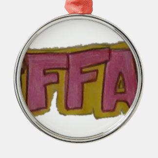 TIFFANYの一流のロゴ メタルオーナメント