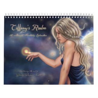 Tiffanyの王国の12ヶ月のカレンダー カレンダー