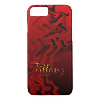 Tiffanyの赤い穹窖のやっとそこにiPhoneの箱 iPhone 8/7ケース