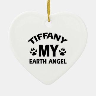 TIFFANY CATのデザイン セラミックオーナメント
