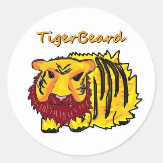 Tigerbeard ラウンドシール