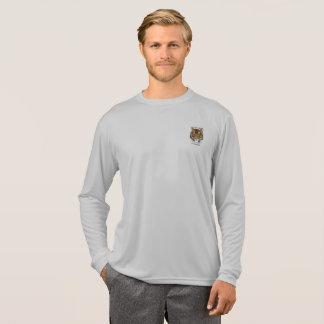 #TIGERLIFEのスポーツTekの競争相手の長袖のティー Tシャツ