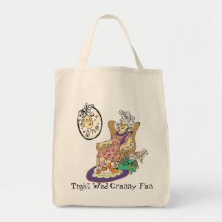 Tightwadのおばあさんファンのバッグ トートバッグ