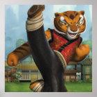 Tigressの蹴り ポスター