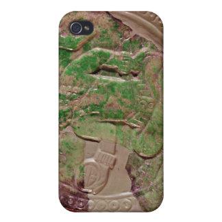 Tikalの場所、グアテマラからの王の胸 iPhone 4/4Sケース