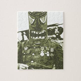 Tikiのマスクの兵士 ジグソーパズル