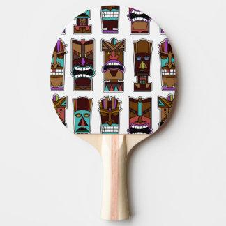 Tikiのマスクパターン 卓球ラケット