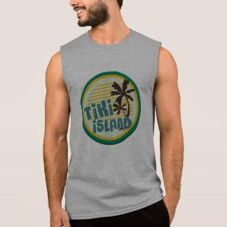 Tikiの島 袖なしシャツ