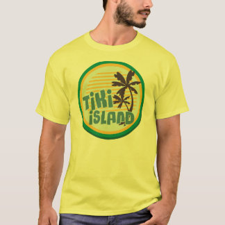 Tikiの島 Tシャツ