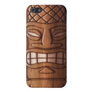 Tikiの木のマスク iPhone 5 ケース