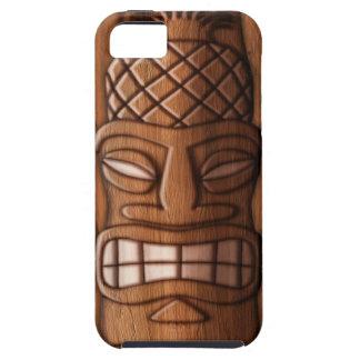Tikiの木のマスク iPhone SE/5/5s ケース