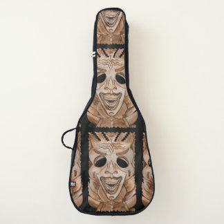 TIKIの木製の石造りのおもしろいのギターの箱 ギターケース