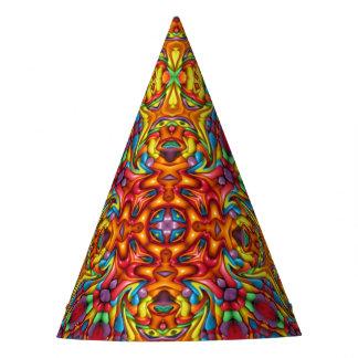 Tikiの気紛れな万華鏡のように千変万化するパターンのカスタマイズ可能なパーティーの帽子 パーティーハット