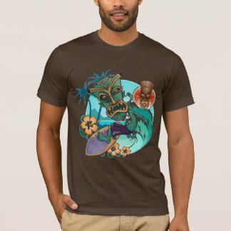 Tikiの波 Tシャツ