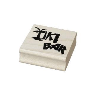 Tikiの熱帯バー ラバースタンプ