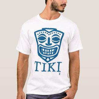 TIKIの青 Tシャツ