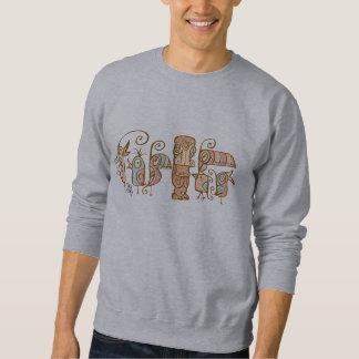 Tikiの鳥およびTiki スウェットシャツ