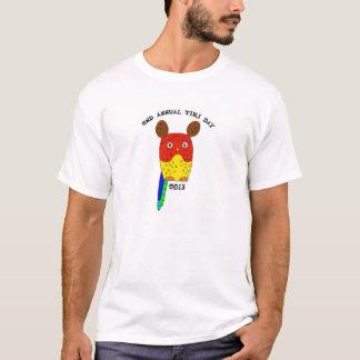 Tiki日の人のワイシャツ Tシャツ