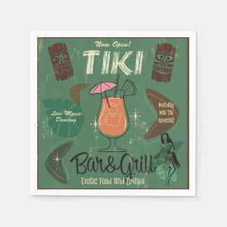 Tiki Bar&Grillのカクテルのナプキン スタンダードカクテルナプキン