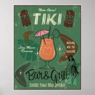 Tiki Bar&Grillポスター ポスター