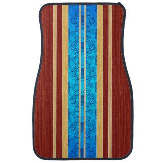 Tiki Hawiianの模造のな木製のサーフボード カーマット